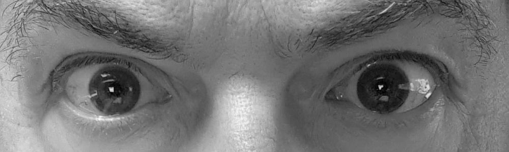fragender Blick